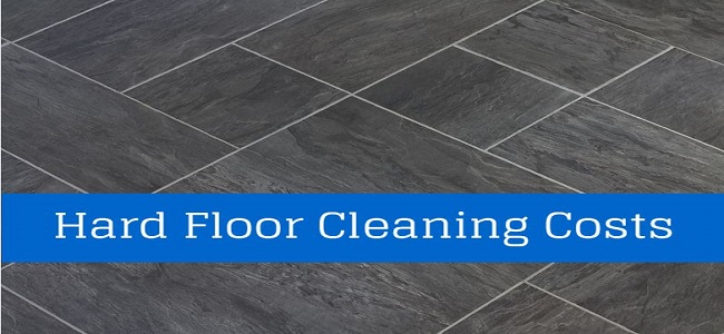 hard floor cleaning costs