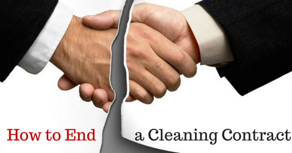 How to end a cleaning contract using end of contract letter how to use an end of contract letter to end a cleaning contract altavistaventures Image collections