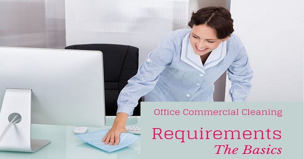 office commercial cleaning for desks